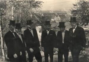 Die Gründungsmitglieder 1967