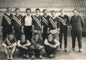 Punktspielmannschaft 1972