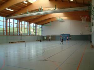Sporthalle Innenansicht